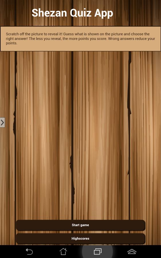 Shezan Quiz App- screenshot