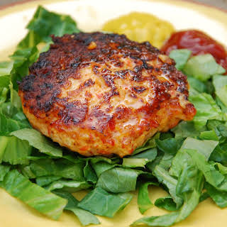 Bell Pepper Chicken Burgers.