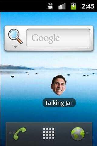 Talking James- screenshot