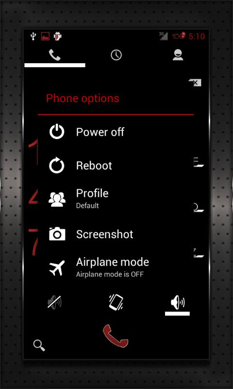 RED HEAVY CM10 AOKP CM7+ - screenshot