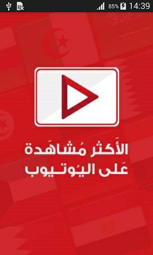 اشهر فيديوهات اليوتيوب