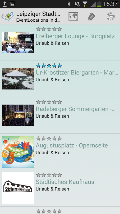 Leipziger Stadtfest - screenshot