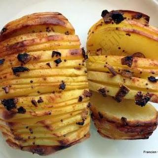 Hassleback Potatoes.
