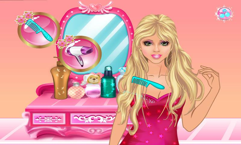 Barbie Hair Salon Google Play Store Revenue Download Estimates - Barbie hairstyle design game