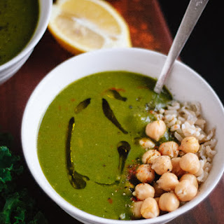 Redeeming Green Soup with Lemon and Cayenne