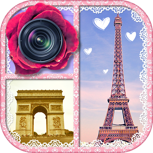 Midnight in Paris Pic Collage