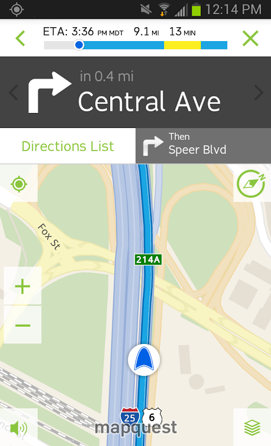 MapQuest: Maps, GPS & Traffic - screenshot