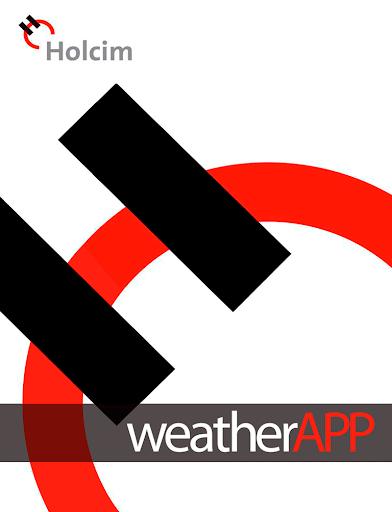 Holcim weatherAPP
