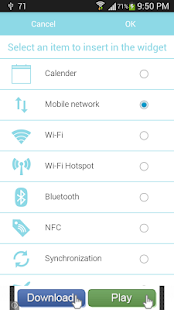 Add internet shortcut android desktop
