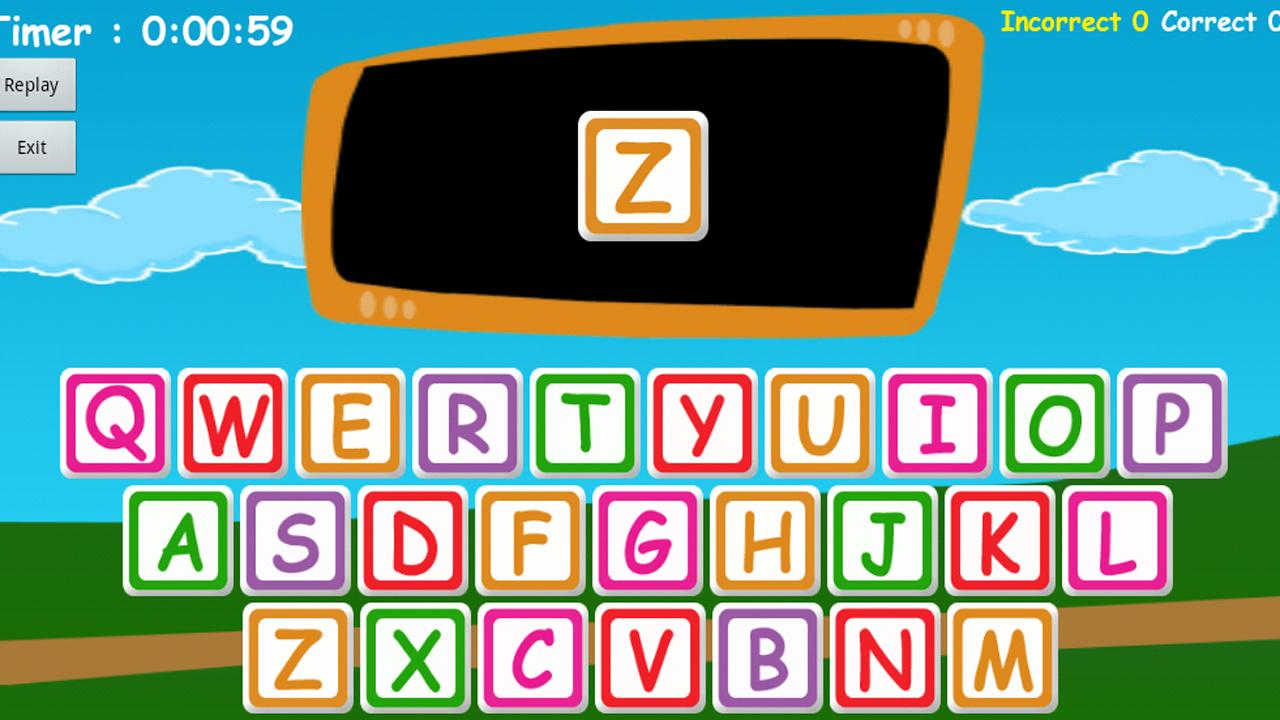 Learn Alphabet Kids and baby- screenshot