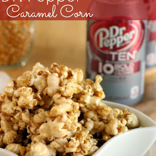 Dr. Pepper TEN Caramel Popcorn
