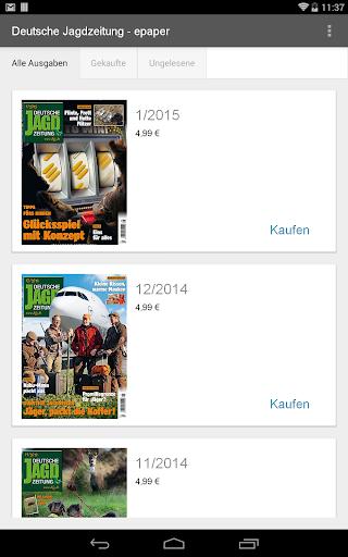 Deutsche Jagdzeitung - epaper