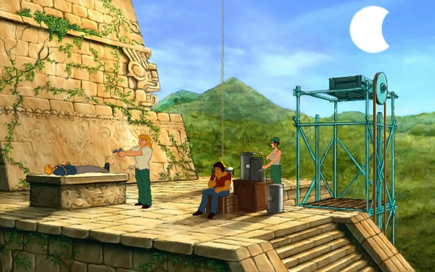Broken Sword 2: Español- screenshot