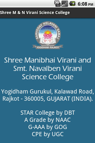 Shree M N Virani Sci. College