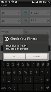 Stay Fit- screenshot thumbnail