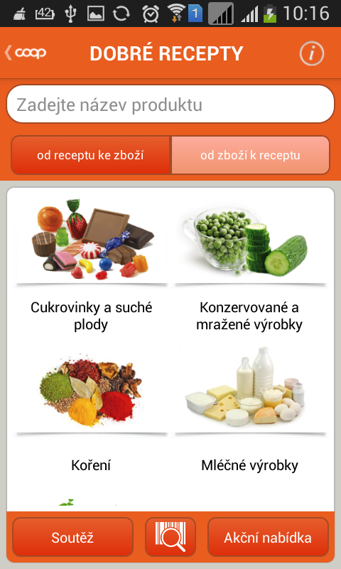 COOP Dobré recepty - screenshot