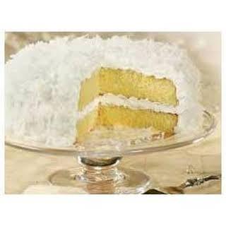Classic ANGEL FLAKE Coconut Cake.