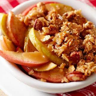 Caramel Crunch Apple Crisp.
