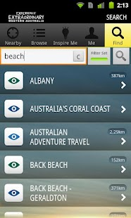 Experience Western Australia- screenshot thumbnail
