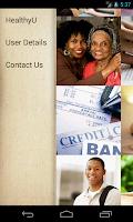 Screenshot of HealthyU Student Assistance