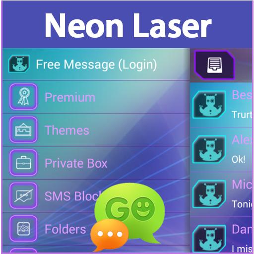 GO短信加强版氖激光 LOGO-APP點子