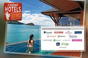 Screenshot of Cheap Hotels, apartment offers