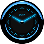 Laser Clock ANDROID BLUE