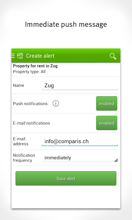 Property Switzerland, Flat- screenshot