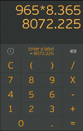 Calculabel - smart calculator