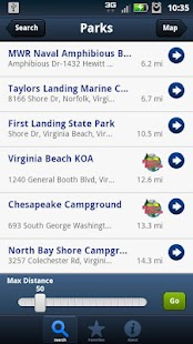 Mobile RVing- screenshot thumbnail