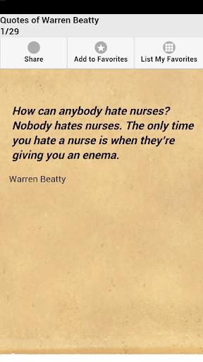 Quotes of Warren Beatty