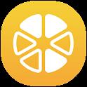 GPS-Trace Orange icon