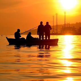 Fishing by Ahmet AYDIN - People Street & Candids ( fishing,  )