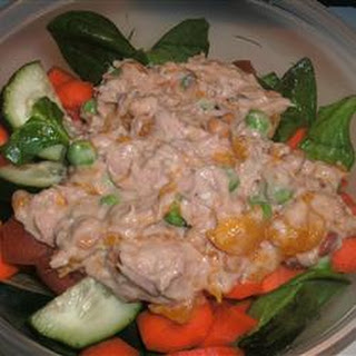 Orange Ginger Tuna Salad