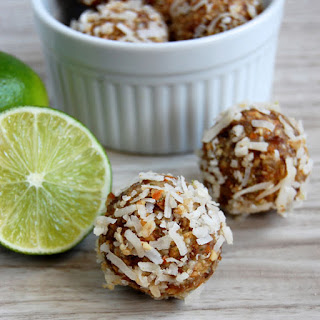 Coconut Lime Energy Bites.