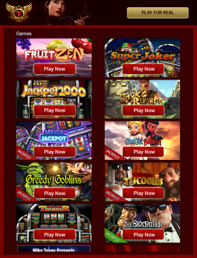 7 red slots games