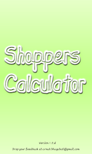 Shoppers Calculator screenshot 2