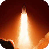 Launched Shuttle a live