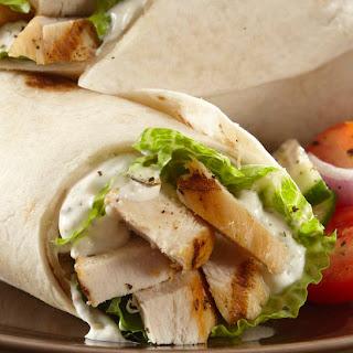Chicken Caesar Roll Ups.