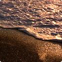 Golden Waves Live Wallpaper HD