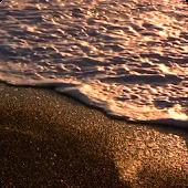 Golden Waves Live Wallpaper HD
