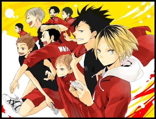 『音駒高校排球部』大好き! 同人画像