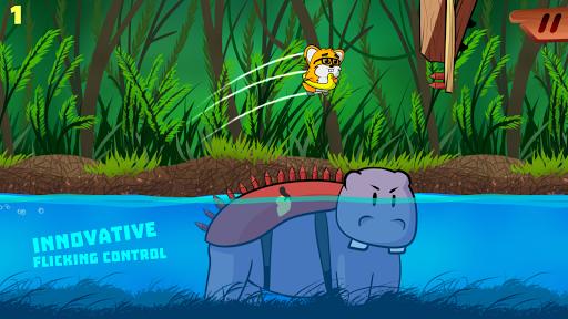 Hamster Platform Game for Kids