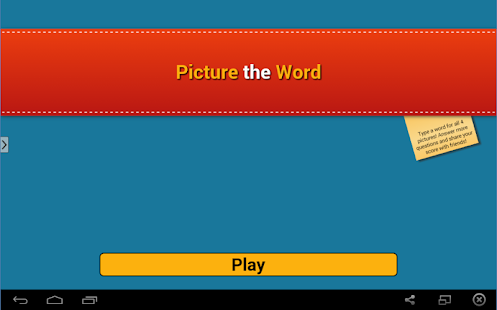 Picture the Word- screenshot thumbnail