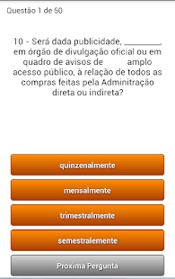 Quiz Concurso Publico- screenshot thumbnail