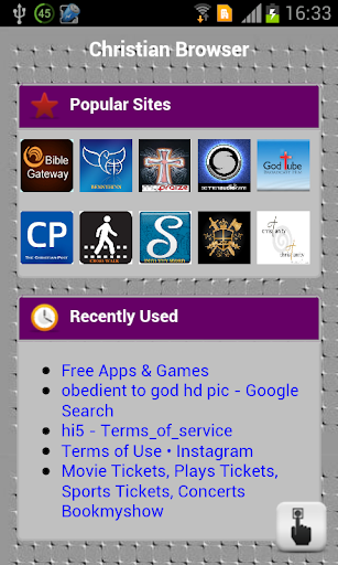 Christian Browser