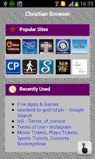Christian Browser - screenshot thumbnail