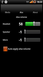MixGet, mixer widget with alsa - screenshot thumbnail