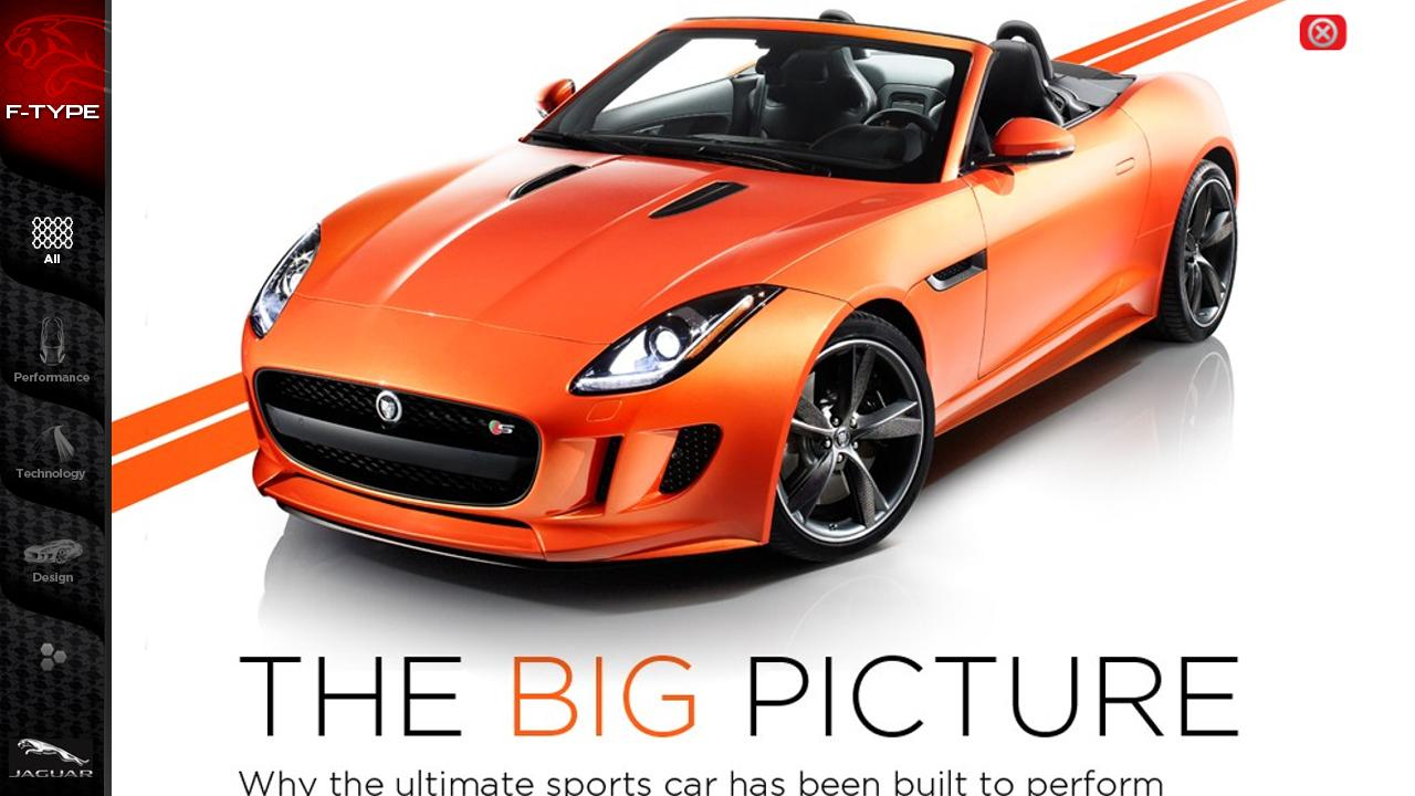 Jaguar F-TYPE Magazine - screenshot