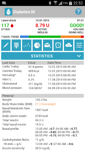 Diabetes:M License